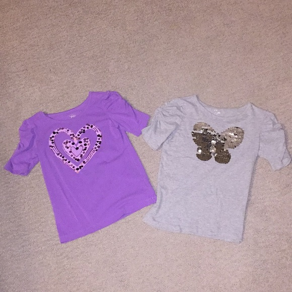 Children's Place Other - Two sequin shirts 💜